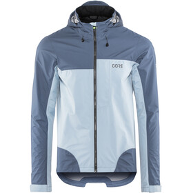 GORE WEAR C5 Gore-Tex Active Trail Hooded Jacket Men deep water blue/cloudy blue